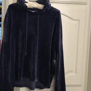 Dkny blue hoodie